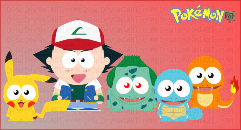 south park pokemon
