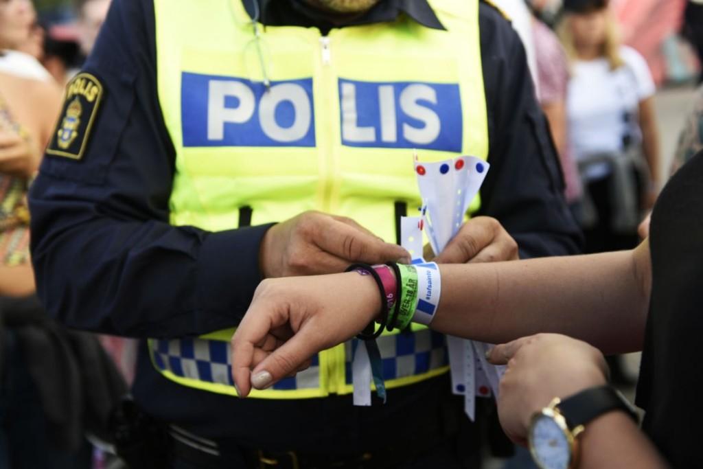 svedska policija festival