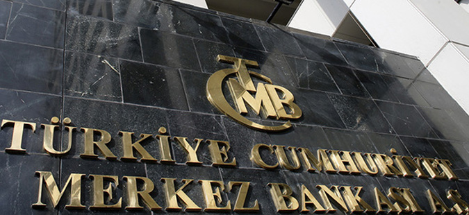 Turkey's Central Bank headquarters is seen in Ankara