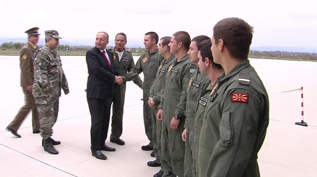 voeni piloti makedonija