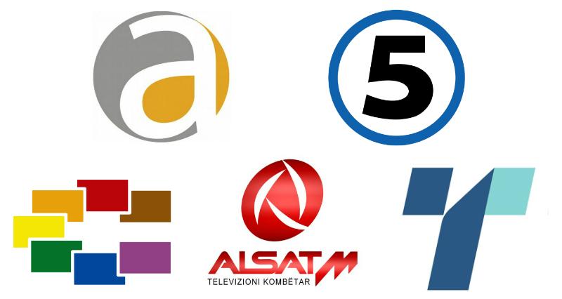 Alfa Kanal5 Sitel AlsatM Telma MMA