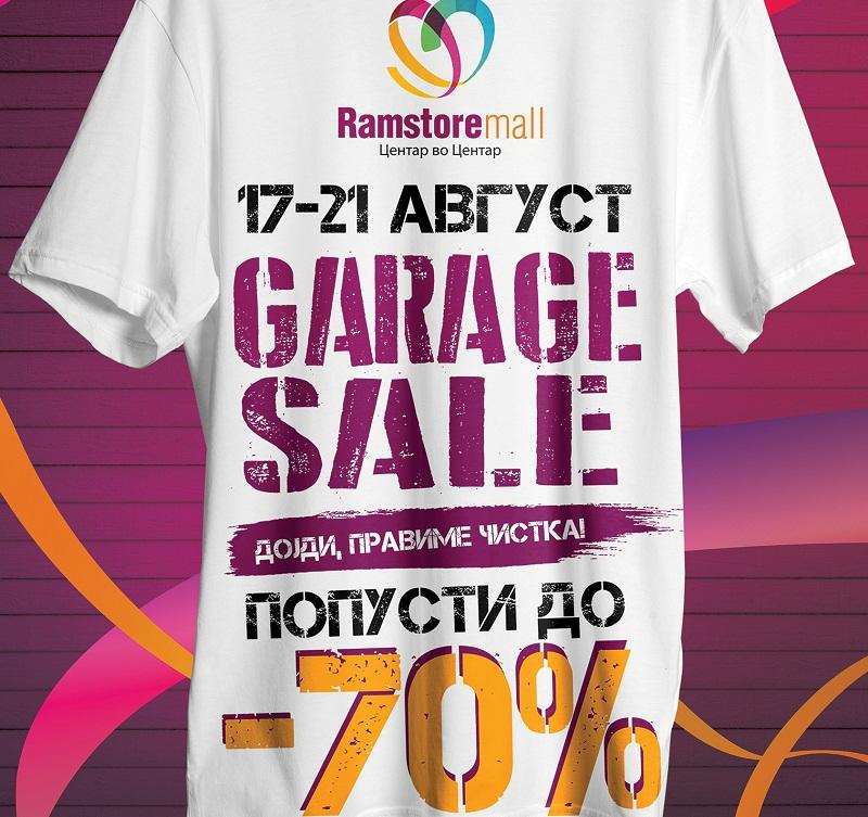 Garage sale poster