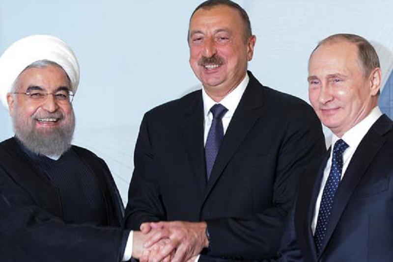 Putin, Aliev i Rohani