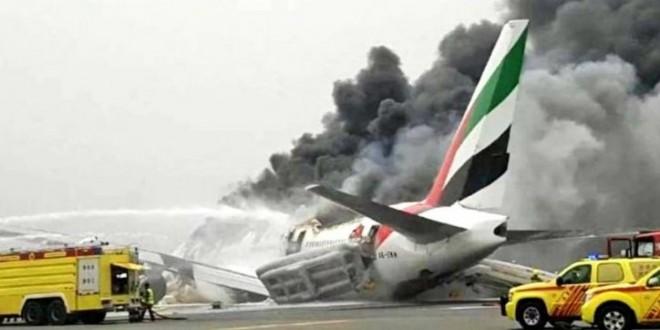 avion eksplozija Emirati