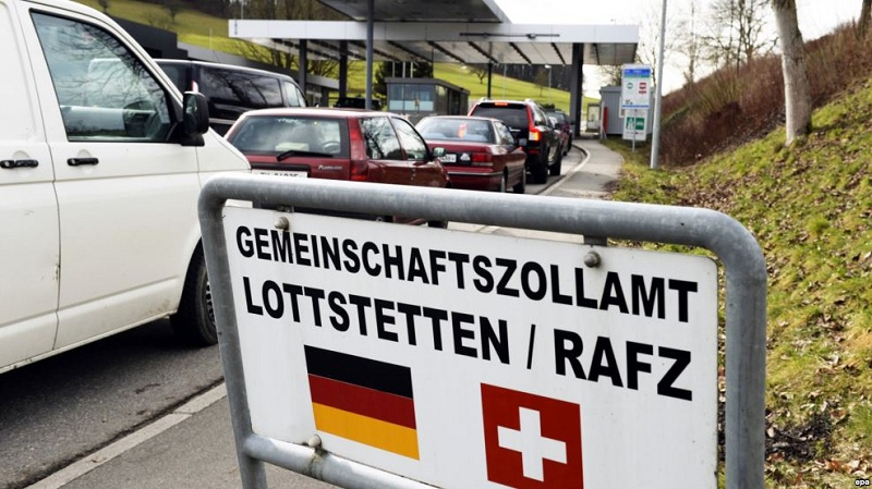 germanija svajcarija granica