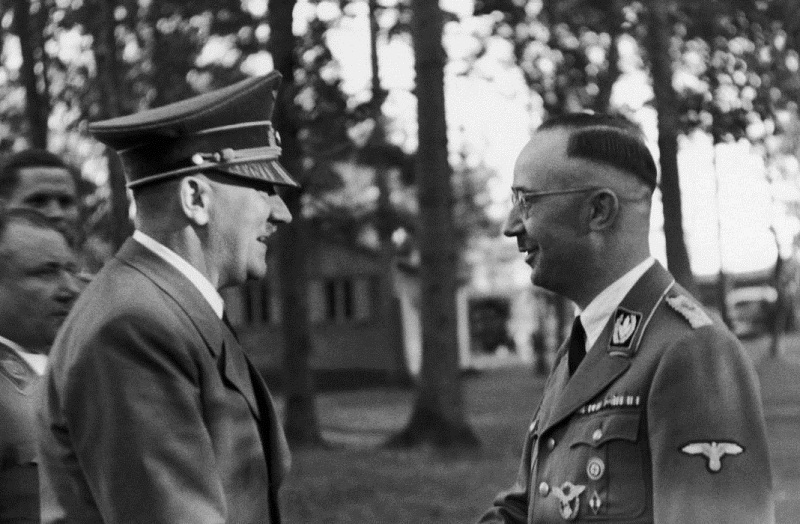 Hitler Congratulating Himmler On His Birthday In 1943