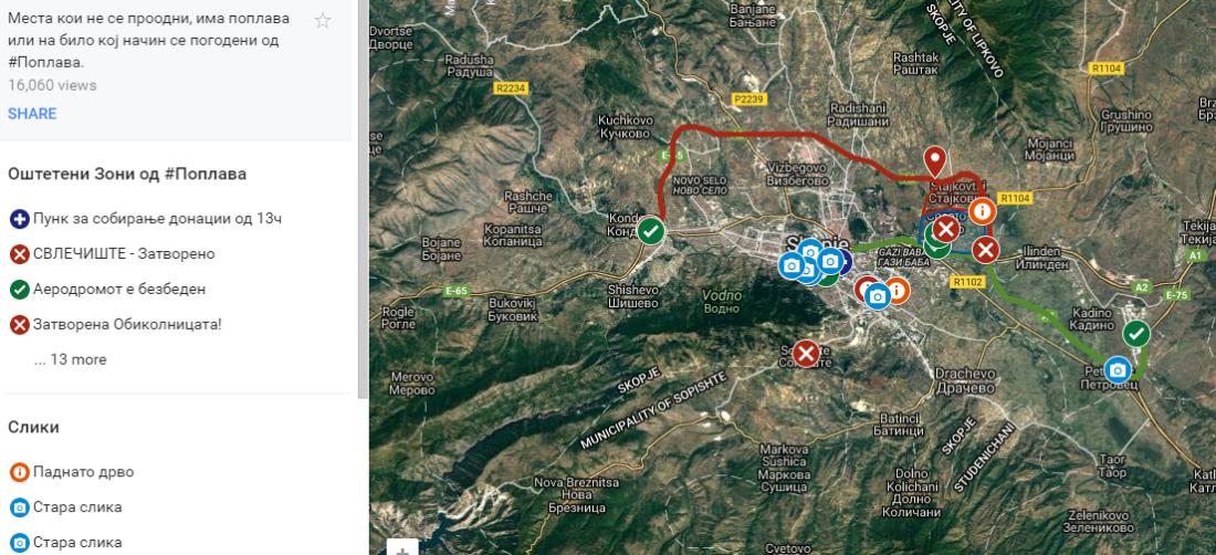interaktivna mapa poplavi