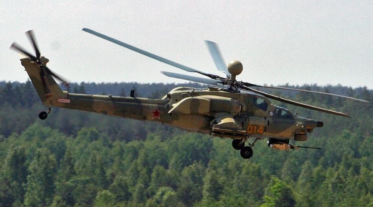 ruski voen helikopter
