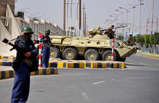 vojna Jemen