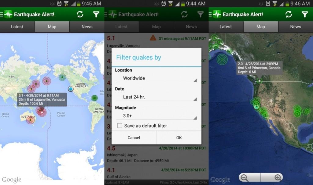 earthquake-alert-app-interface