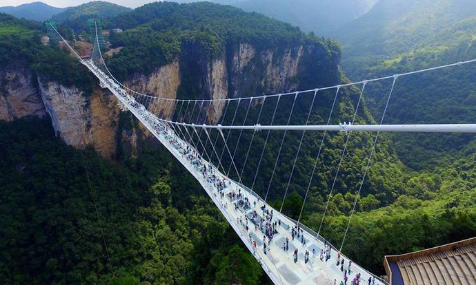 kineski staklen most
