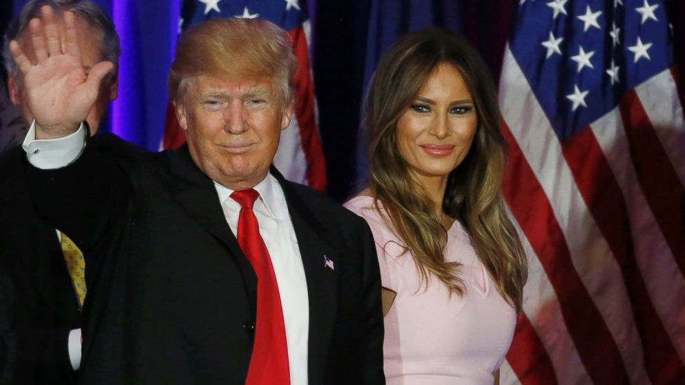 melania i donald tramp