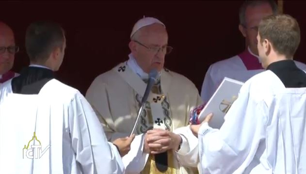 pope francis teresa