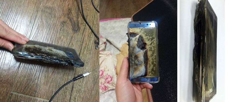 samsung note7 explode