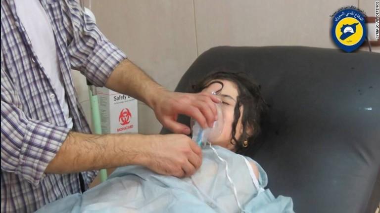 sirija hemiski napad
