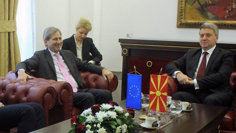 Хан нема да се сретне со  За заедничка Македонија   нема потврда ни за Иванов