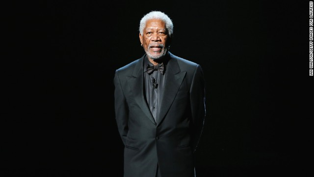 RIO DE JANEIRO, BRAZIL - MARCH 11:  Host Morgan Freeman speaks during the awards show for the 2013 Laureus World Sports Awards at the Theatro Municipal Do Rio de Janeiro on March 11, 2013 in Rio de Janeiro, Brazil.  (Photo by Ian Walton/Getty Images For Laureus)