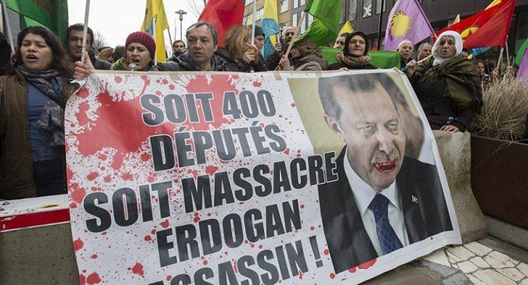 brisel protesti erdogan