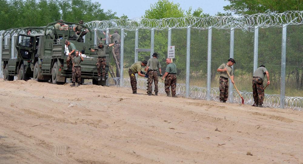 hungary-fence