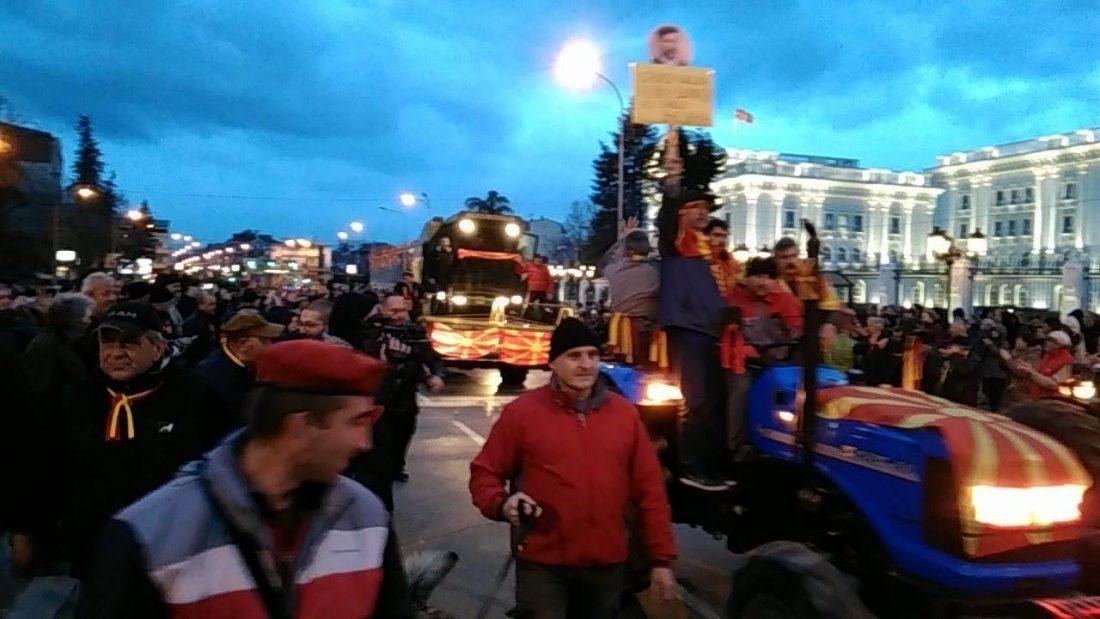 За заедничка Македонија  пред ЕУ делегација пoрачаа  Никој не смее да го игнорира народот во Македонија