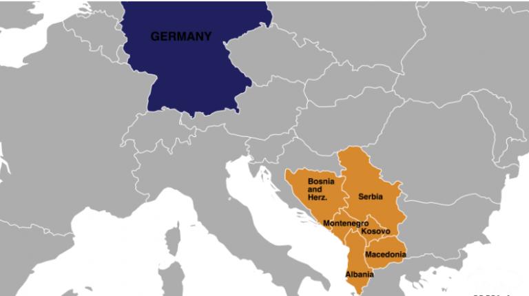 balkan mapa germanija