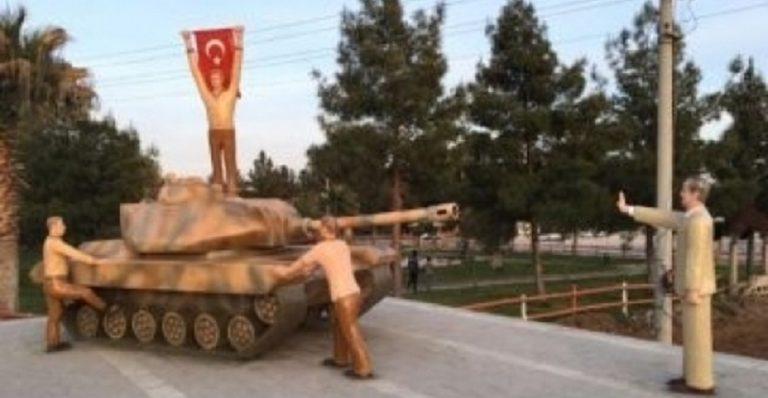 erdogan spomenik