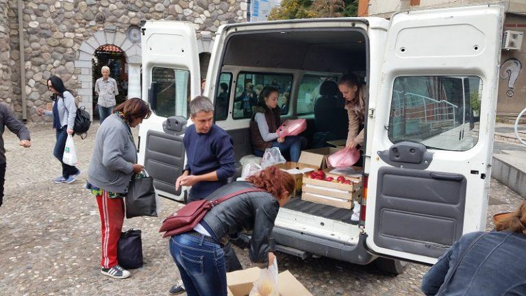 ljubeznost hrana za bezdomnici