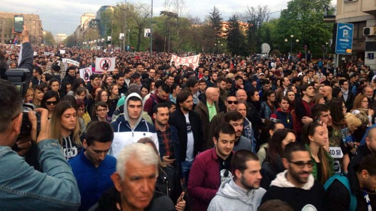 protest srbija