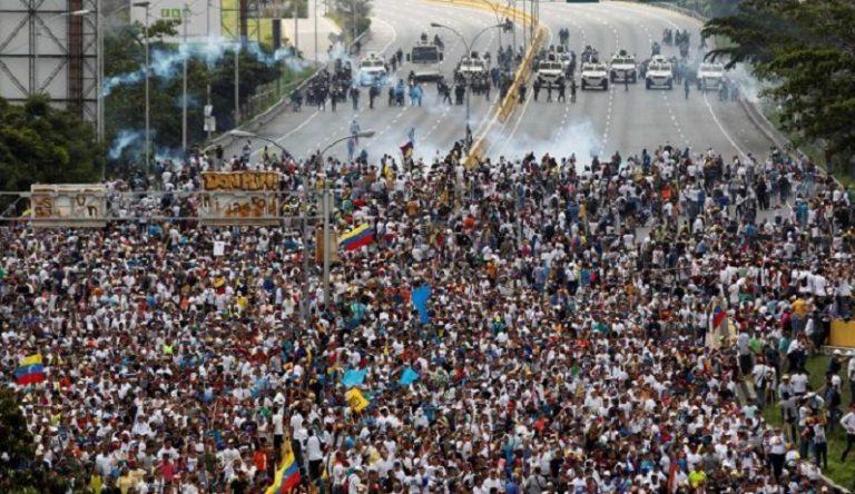 protest venecuela