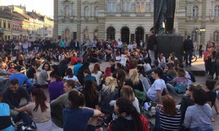 protesti srbija