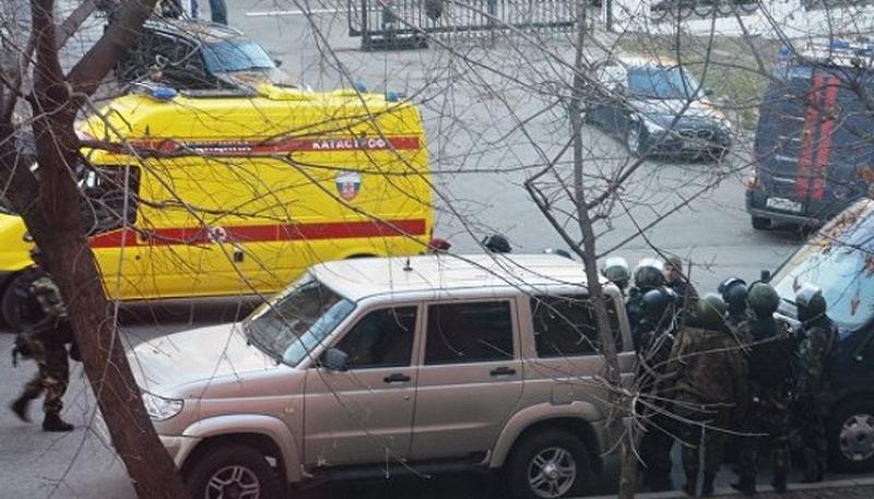 Напад над канцеларија на руско ФСБ   Тројца мртви