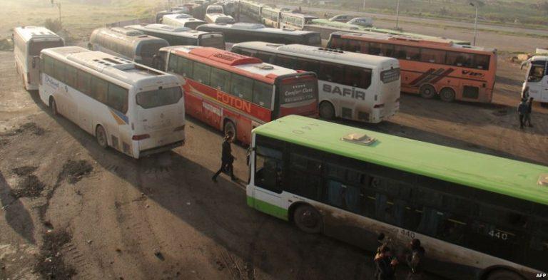 sirija konvoj begalci