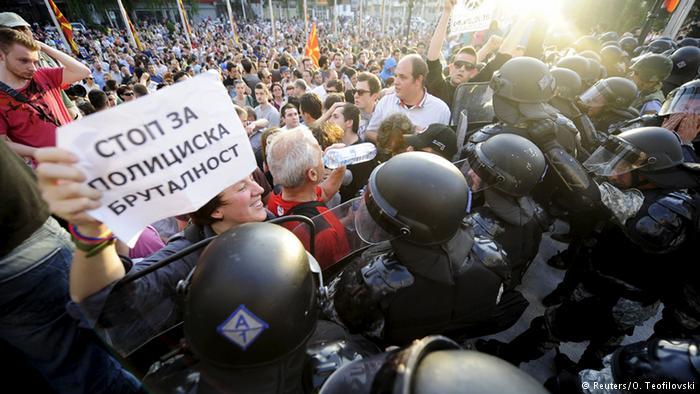 protest za Martin Neskovski