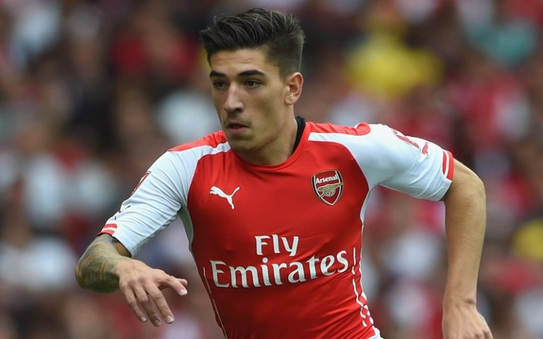 LONDON, ENGLAND - AUGUST 02:  Hector Bellerin of Arsenal in action during the Emirates Cup match between Arsenal and Benfica at the Emirates Stadium on August 2, 2014 in London, England.  (Photo by Michael Regan/Getty Images)