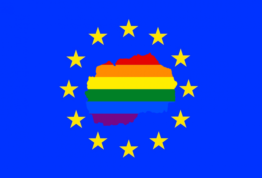 EU Rainbow Macedonia