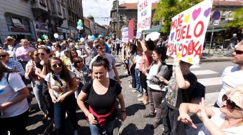 abortus protesti hrvatska