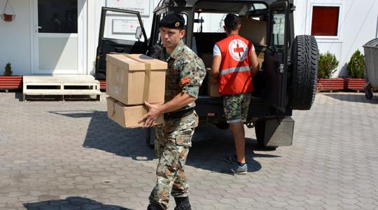 АРМ и Црвен крст ќе изведат заеднички вежби