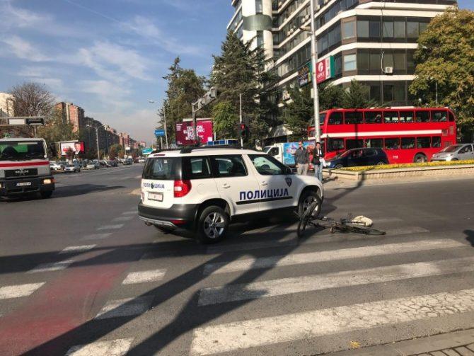 полиција велосипед