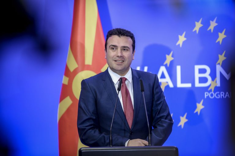zaev albanija