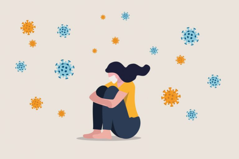 While the unrelenting media coverage may make it seem like coronavirus is omnipresent in our lives, we should try to keep things in perspective, says USC expert Sheila Teresa Murphy. (Illustration/iStock)